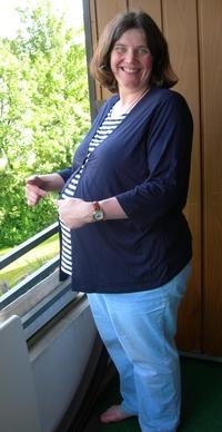 Petra hochschwanger